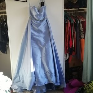 Never worn Cinderella prom dress